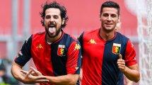 Serie A : le Genoa et ses recrues cartonnent le promu Crotone