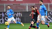 Serie A : Goran Pandev et le Genoa surprennent le Napoli