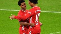 Le duo Serge Gnabry - Leroy Sané enflamme le Bayern Munich