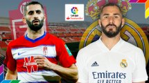 Grenade-Real Madrid : les compositions officielles