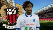 Evann Guessand prolonge son contrat à Nice