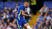 Chelsea : Hakim Ziyech sorti sur blessure lors de la Supercoupe d'Europe