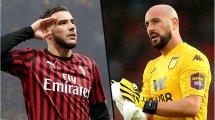 Exclu FM, PSG-AC Milan : l'agent de Reina et Theo Hernandez fait le point sur l'avenir de ses deux joueurs