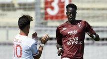 Metz : Ibrahima Niane a la cote en Bundesliga