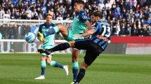 Serie A : l'Atalanta craque sur le fil contre l'Udinese