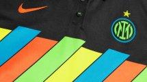 Nouveau maillot très original pour l'Inter Milan !