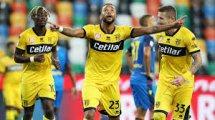 Serie A : Parme et l'Udinese dos à dos