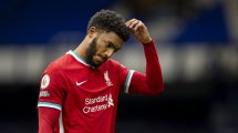 Liverpool : Joe Gomez indisponible plusieurs mois