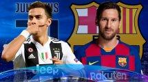 Juventus-Barça : les compos probables