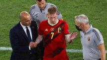 Belgique : pas d'Eden Hazard ni de Kevin De Bruyne à l'entraînement