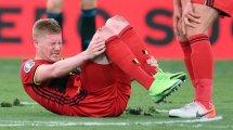 Euro 2020, Belgique : Kevin de Bruyne a affronté l'Italie avec une déchirure aux ligaments
