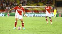 Le groupe de l'AS Monaco face à l'OM
