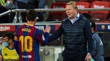 FC Barcelone : Ronald Koeman évoque la blessure de Lionel Messi