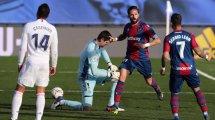Liga : le Real Madrid se saborde face à Levante