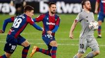 Liga : Levante et l'Athletic dos à dos