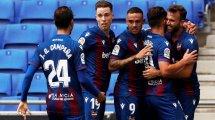 Liga : Levante s'impose sur la pelouse de l'Espanyol