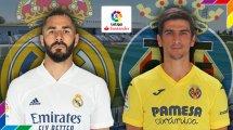 Real Madrid - Villarreal CF : les compositions probables