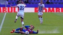 Liga : Eibar l'emporte à Valladolid en infériorité numérique