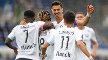 Ligue 1 : Lille surclasse Strasbourg, Monaco chute à Brest