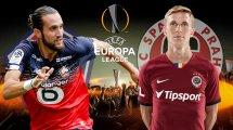 Lille-Sparta Prague : les compositions probables