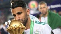 Algérie : Riyad Mahrez encense Djamel Belmadi