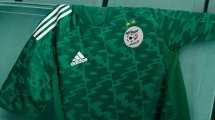 L'Algérie dévoile son nouveau maillot extérieur