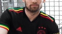 Le nouveau maillot third de l'Ajax en hommage à Bob Marley