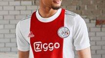 Adidas présente le nouveau maillot domicile de l'Ajax Amsterdam !