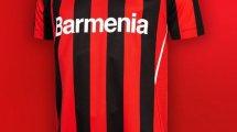 Jako lance le nouveau maillot domicile du Bayer Leverkusen !