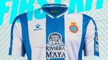 L'Espanyol de Barcelone présente ses nouveaux maillots avec Kelme !