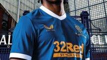 Castore dévoile le nouveau maillot domicile des Rangers !