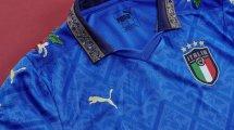 Les maillots de l'Italie revisités en hommage à la Renaissance italienne