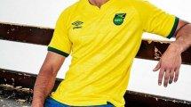Umbro présente les nouveaux maillots de la Jamaïque !