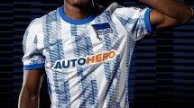 Nike lance les nouveaux maillots du Hertha Berlin !