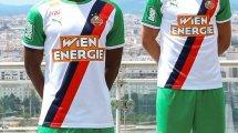 Puma dévoile le maillot domicile du Rapid Vienne pour la saison 2021-2022