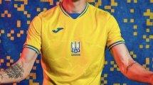 Joma dévoile les maillots de l'Ukraine pour l'Euro !