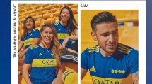 adidas présente le maillot domicile de Boca pour la saison 2021-2022