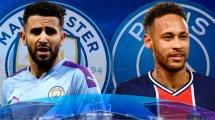 Manchester City-PSG : les compos probables