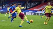 PL : Burnley se relance en écrasant Crystal Palace