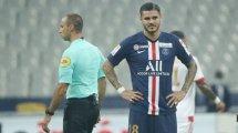 LdC : Mauro Icardi et Pablo Sarabia forfaits pour Man Utd