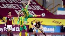 PL : Burnley et West Bromwich Albion restent dos à dos