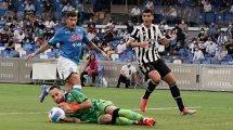 Serie A : malmenée par Naples, la Juventus coule