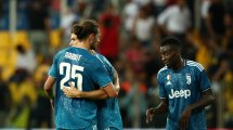 Juventus-Lecce : Adrien Rabiot titulaire au milieu, Blaise Matuidi latéral gauche