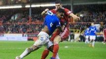 Alfredo Morelos, l'attaquant des Glasgow Rangers qui enchaîne les buts... et les cartons rouges !