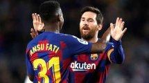 Liga : le duo Ansu Fati - Leo Messi offre la victoire au Barça face à Levante