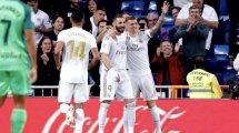 Liga : le Real Madrid cartonne Leganés grâce à un Benzema des grands soirs