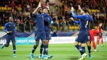 Euro 2021 Espoirs, éliminatoires : les Bleuets régalent face à l'Azerbaïdjan