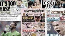 Les salaires des stars de Serie A dévoilés, MU va régler le cas David De Gea