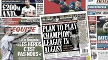 Tottenham fixe le prix d'Harry Kane, le plan de l'UEFA pour la Ligue des Champions