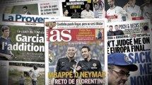 Le Real Madrid ne lâche toujours pas Neymar et Mbappé, les 3 Lillois dans le viseur de l'AC Milan